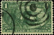 US Scott #285 Used