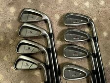 Nice Taylormade 200 Series 3-Pw Iron Set W/ Ultralite R-80 Regular Flex