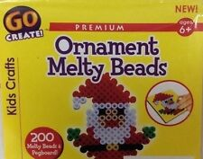 New ListingKids Crafts Santa Claus Ornament Melty Beads Ages 6+ Go Create New Sealed