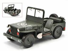 1:12 Scale Jeep Willy Overland Handcrafted Detailed US Army Vehicle Trophy Gift