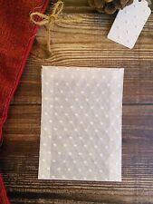 10 X Bolsa De Boda en relieve de cristal favor-ácido Libre - 85x117 mm