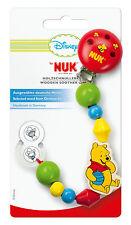NUK Disney Holzschnullerkette mit Winnie the Pooh-Motiv