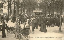 CARTE POSTALE PARIS CHAMPS ELYSEES LES GUIGNOLS