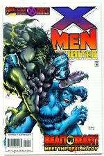 (1996) X-MEN UNLIMITED #10 BEAST Vs DARK BEAST STORY! IAN CHURCHILL COVER ART!
