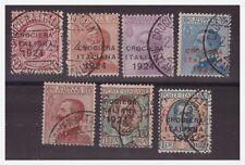 1924 - CROCIERA ITALIANA -  SERIE USATA