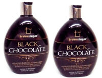 LOT 2 Brown Sugar BLACK CHOCOLATE Tanning lotion, 13.5 oz