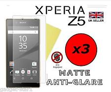 3x HQ MATTE ANTI GLARE SCREEN PROTECTOR COVER FILM LCD GUARD FOR SONY XPERIA Z5