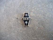 vintage 1930 Beta Omega Pi fraternity gold filled pin skull RARE