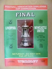 1974 FA CUP FINAL LIVERPOOL v NEWCASTLE UNITED, 4 May (Org*, Exc)