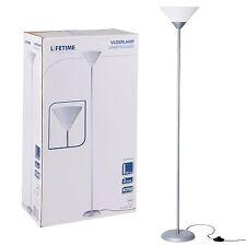 Modern Contemporary Tall Uplighter Single Head Floor Standing Lamp Reading Light