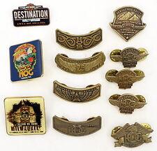 Vintage Harley Davidson Motorcycles Pin LOT of 12 Eagle Wings HOG