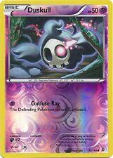 Duskull 61/149 B&W Boundaries Crossed REVERSE HOLO PERFECT MINT! Pokemon