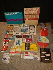 25 Vintage 50s/60s/70s Hardware Store Retail Display Signs,Header Cards,Sign