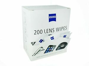 ZEISS Lens Wipes - Pack of 200 - FREE POSTAGE - CHEAPEST IN EBAY*** NEW STOCK