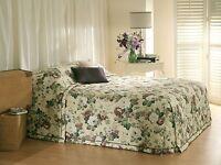 Bianca English Garden Green Bedspread Set in All Sizes