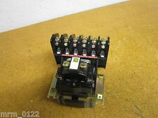 Square D 8501-HLO-60 Latching Relay 120-600V Gently Used