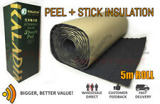 3sq/m Acoustic Liner, insulation foam peel and stick carpet underlay, van camper