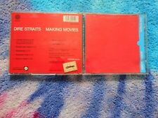 Dire Straits ‎– Making Movies 1984  CD - Vertigo blue SWIRL 1ST PRESS GERMANY ‎