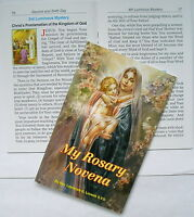 My Rosary Novena Book 32 Page Religious Gift Colour Illustrated