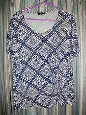 Stretch Printed Top Size 22 soon
