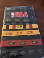 NBA Rubber Baller ID Wristbands Bands New Rubber Bands Black Yellow Red New