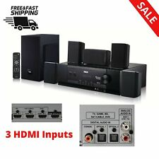 BLUETOOTH HOME THEATER SYSTEM Speaker Music Player Set Room Living Room Bedroom