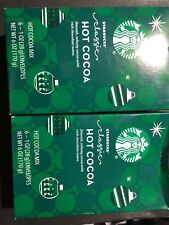 Lot Of 2 Starbucks Hot Cocoa Mix 6- 1 Oz Envelopes Hot Chocolate