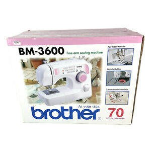 Brother BM-3600 Free Arm Sewing Machine 70 Stitch Functions NEW IN BOX