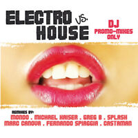 CD Electro Versus House DJ Promo Mix Solo di vari artisti 2CDs