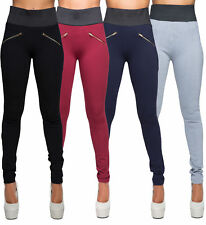 Womens High Waist leggings Trousers Ladies Sexy Casual Stretch Skinny Pants