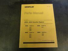 Caterpillar CAT 4G63 4G64 Gasoline Engines Fork lift Parts Manual