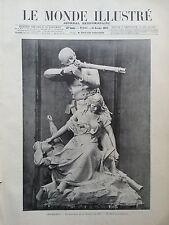 LE MONDE ILLUSTRE 1897 N 2117 CHATEAUDUN: LE MONUMENT DE LA DEFENSE DE 1870.