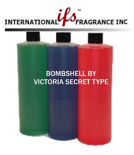 Bombshell by Victoria Secret women, Fragrance Body oil Bottle of 16 OZ