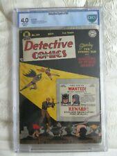 DETECTIVE COMICS #141 CGC,cbcs 4.0 OW PAGES // BOB KANE + CHARLES PARIS COVER