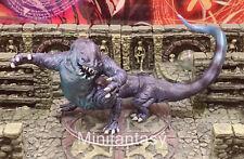Frost Salamander D&D Miniature Dungeons Dragons Elemental Reptile Icewind 33