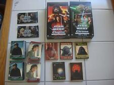 2015 STAR WARS CHROME PERSPECTIVES JEDI vs SITH COMPLETE MASTER SET 250 CARDS