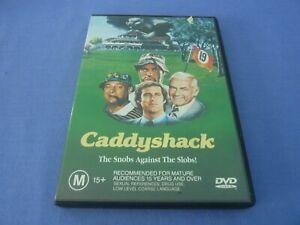 Caddy Shack DVD Chevy Chase Rodney Dangerfield Bill Murray Region 4