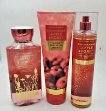 Bath & Body Works Champagne Apple & Honey Collection