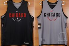 Official Nike NBA Chicago Bulls Practice Jersey Reversible XXLT 2X-Tall XXL Tall