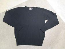 Ralph Lauren RRL Double RL Lambswool Sweater Adult Small Black Lambs Wool RR