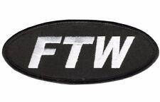 FTW Motorcycle Biker Patch