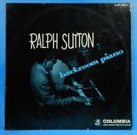 RALPH SUTTON BACKROOM PIANO LP 1957 UK ORIGINAL PRESS GREAT CONDITION VG++/VG+!!