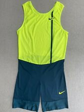 Nike Elite Pro Sponsored Track Running Sprint Discus Javelin Throwing Speedsuit
