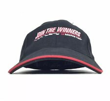 MONSTER Cable - Join The Winners Embroidered Black Baseball Cap Hat Adj Men's