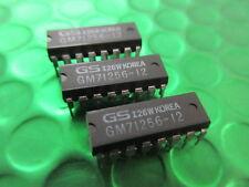 "GM71256-12, 256K X 1-bit ""RAM dinámica DRAM, Vintage IC, * 2 por venta * £ 3.38ea"