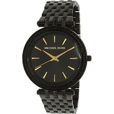 Michael Kors Women's Darci MK3337 Black Stainless-Steel Quartz Fashion Watch