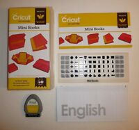 Cricut Art Cartridge Mini Books Provo Craft 2012 w/ Keyboard Projects