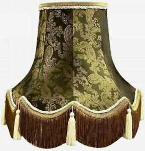 Bronze Paisley Table Floor Standard Lamp Lampshades Ceiling Chandelier Lights