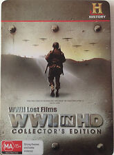 WWII Lost Films WWII in HD Collectors Edition (Metal Case Edition) - Region 4