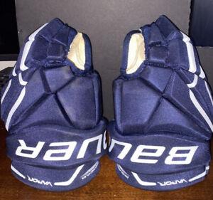"""Bauer X60 13"""" Gloves Navy"""